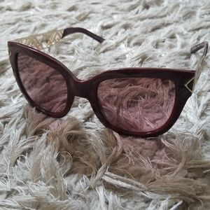 Red and Gold Tory Burch Sunnies